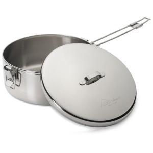 ◆商品概要:ALPINE STOWAWAY POTS  調理と食料の保存に最適。これらの多用途鍋は、...