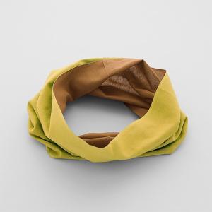 20%OFF vic2セール ワォ Oo ネックアンダーウェア Mustard × Brown|vic2