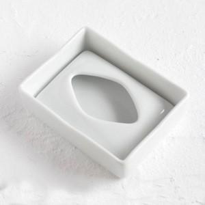 ポーセラーツ 白磁 インテリア ポケットティッシュボックスカバー|victoriadesign