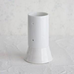 ポーセラーツ 白磁 インテリア キャンドルカバー|victoriadesign