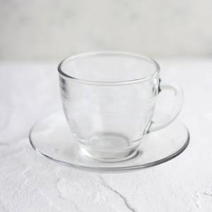 ポーセラーツ 白磁 食器 ミラージュカップ&ソーサー (ガラス) 北欧風|victoriadesign
