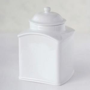 ポーセラーツ 白磁 キッチン ティーリーフストッカー 北欧風
