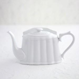 ポーセラーツ 白磁 雑貨 ティーポットナプキンホルダー 北欧風 victoriadesign