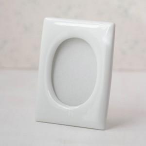 ポーセラーツ 白磁 フォトフレーム フォトスタンド 写真立て (L) 北欧風 victoriadesign