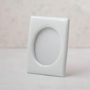 ポーセラーツ 白磁 フォトフレーム フォトスタンド 写真立て (M) 北欧風 victoriadesign