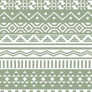 ポーセラーツ 転写紙 模様 (特別アウトレット) NATIVE (ネイティブ・カーキ)|victoriadesign