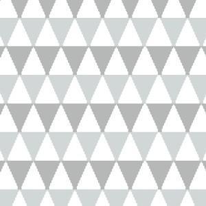 ポーセラーツ 転写紙 ネイティブ TRIANGLE  (トライアングル・グレー)|victoriadesign