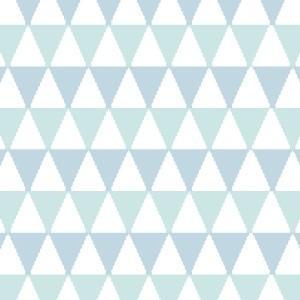 ポーセラーツ 転写紙 ネイティブ TRIANGLE  (トライアングル・ブルー)|victoriadesign