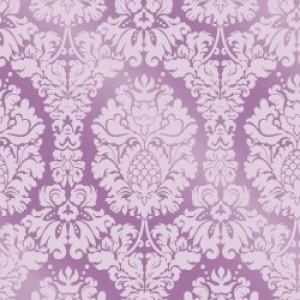 ポーセラーツ 転写紙 模様 GRAND DAMASK (グランドダマスク・ピンク)|victoriadesign