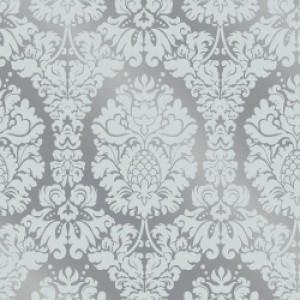 ポーセラーツ 転写紙 模様 GRAND DAMASK (グランドダマスク・ガラスホワイト)|victoriadesign