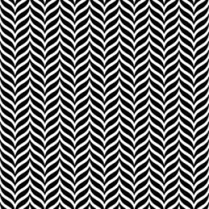 ポーセラーツ 転写紙 模様 HERRINGBONE PARTY (ヘリンボーン パーティ・ブラック)|victoriadesign