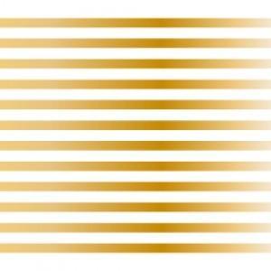 ポーセラーツ 転写紙 模様 3mm LINE (3ミリライン・メタリックゴールド)|victoriadesign