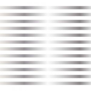 ポーセラーツ 転写紙 模様 3mm LINE (3ミリライン・メタリックシルバー)|victoriadesign