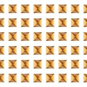 ポーセラーツ 転写紙 模様 STUDS LINE (スタッズライン・ゴールド)|victoriadesign