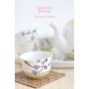 ポーセラーツ 転写紙 花柄 バタフライ - ORIENTAL FLOWER (オリエンタル フラワー)|victoriadesign|03