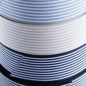 ハンドメイド 手芸 材料 リボンテープ 切り売り ストライプ 幅42mm|victoriadesign