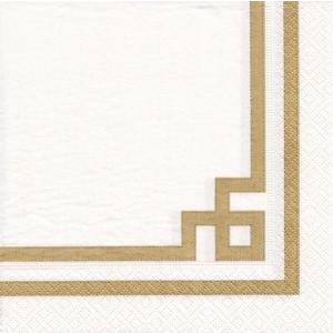 ペーパーナプキン デコパージュ RIVE GOLD LINE L 無くなり次第終了 10枚セット|victoriadesign