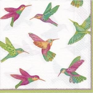 ペーパーナプキン デコパージュ BIRDS L 鳥 10枚セット|victoriadesign