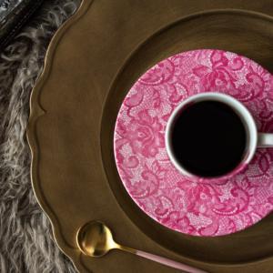 アンダープレート 皿 チャージャープレート フリル・ゴールド 洋食器 アンティーク調 おしゃれ カフェ|victoriadesign