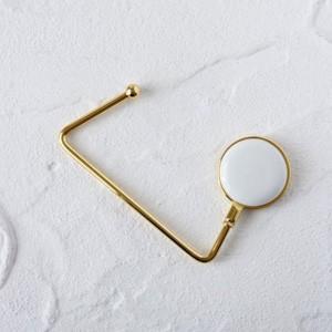 ポーセラーツ 白磁 雑貨 バッグハンガーII 北欧風 victoriadesign