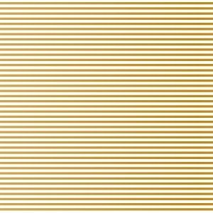 ポーセラーツ 転写紙 模様 1mm LINE (1ミリライン・メタリックゴールド)|victoriadesign
