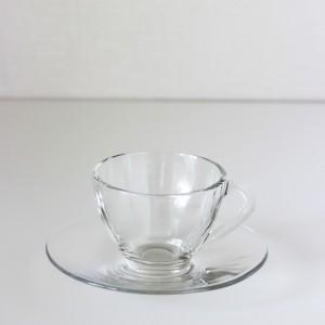 ポーセラーツ 白磁 食器 ティーカップ&ソーサー (ガラス) 北欧風|victoriadesign