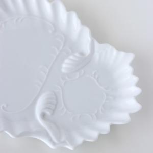 ポーセラーツ 白磁 食器 - フェザー (カップ&ソーサー)|victoriadesign|05