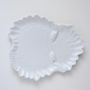 ポーセラーツ 白磁 食器 - フェザー (カップ&ソーサー)|victoriadesign|06