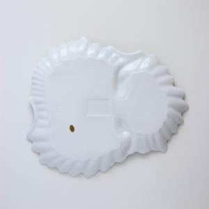 ポーセラーツ 白磁 食器 - フェザー (カップ&ソーサー)|victoriadesign|07