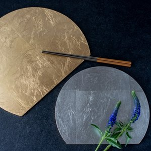 アンダープレート 皿 リバーシブル折敷 M 洋食器 アンティーク調 おしゃれ カフェ|victoriadesign