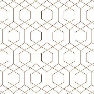 ポーセラーツ 転写紙 幾何学模様 GRAPH (グラフ・ブライトゴールド ...