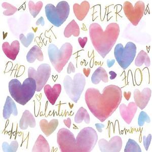 ポーセラーツ 転写紙 かわいい おしゃれ バレンタイン 母の日 父の日 WHOLE HEART(ホー...