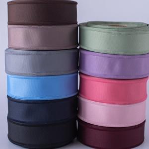 ハンドメイド 手芸 材料 リボンテープ 切り売り サイドエッジデザイングログランリボン|victoriadesign