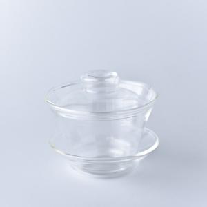 ポーセラーツ 白磁 ガラス チャイニーズグラス&ソーサー 北欧風|victoriadesign