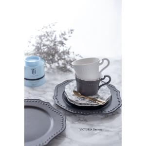 洋食器 ギフト アフタヌーンティーセット カップ ソーサー ティースプーン セット プレート 皿 おしゃれ プレゼント|victoriadesign|11