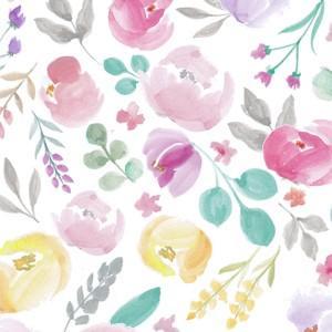 ポーセラーツ 転写紙 花柄 KATE (ケイト)|victoriadesign