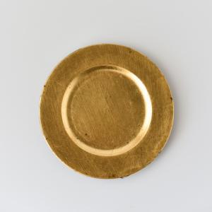洋食器 アンダープレート 特別アウトレット ミニチャージャープレート 皿 ゴールド|victoriadesign