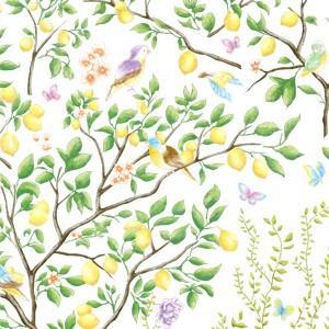ポーセラーツ 転写紙 フルーツ LEMON TREES (レモンツリー)