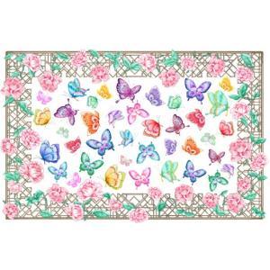 ポーセラーツ 転写紙 花柄 - FLOWER BED(フラワーベッド)|victoriadesign|02