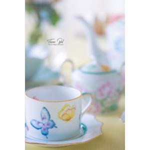 ポーセラーツ 転写紙 花柄 - FLOWER BED(フラワーベッド)|victoriadesign|04
