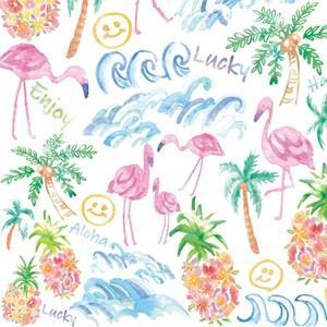ポーセラーツ 転写紙 ハワイアン ALOHA SUMMER(アロハサマー)|victoriadesign