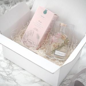 プレゼント 女性 花 スイーツ ハーバリウム ギフトセットA クッキー ビスケット 2020