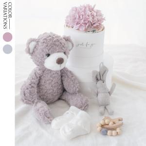 ダイパーケーキ&おくるみ&おもちゃ&ベアーぬいぐるみセット ピンク ブルー S ギフト 出産祝い お...
