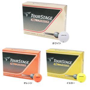 ツアーステージ(TOURSTAGE) ゴルフボール [オンラインストア価格]エクストラディスタンス ...
