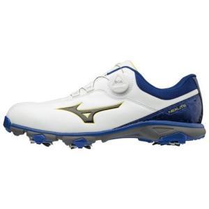 ミズノ(MIZUNO) ゴルフシューズ NEXLITE 005 BOA BL 51GM181022 ...