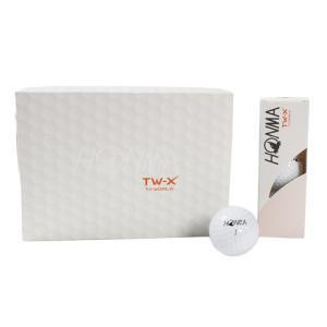 ホンマゴルフ(HONMA) ゴルフボール HONMA TW-X 1ダース(12個入り) (Men's)