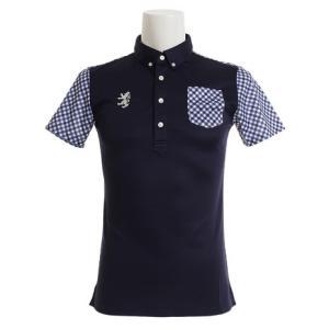 アドミラル(Admiral) ゴルフウェア メンズ リコチェック BDシャツ ADMA923-NVY (Men's)