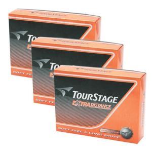 ツアーステージ(TOURSTAGE) ゴルフボール ブリヂストン エクストラディスタンス 3ダースセ...