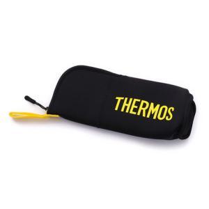 サーモス(THERMOS) ボトルポーチ500 FFX-500 Pouch ブラックイエロー キャン...