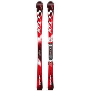 ●KEO'Sシリーズに新たに加わりました。最大の特徴は軽さと軽快さ。短いサイズのスキーでも撓みやすく...